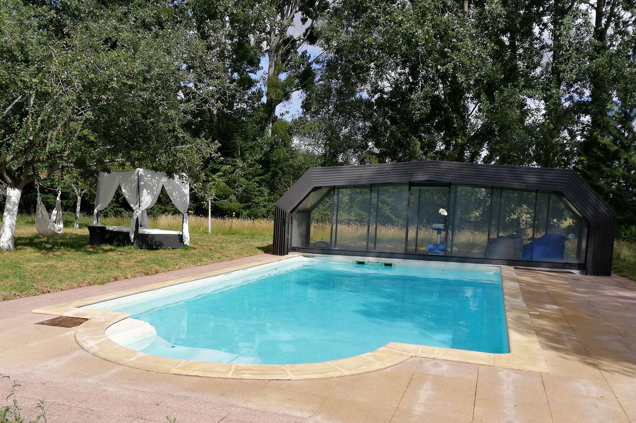 Entretien d'une piscine client particulier